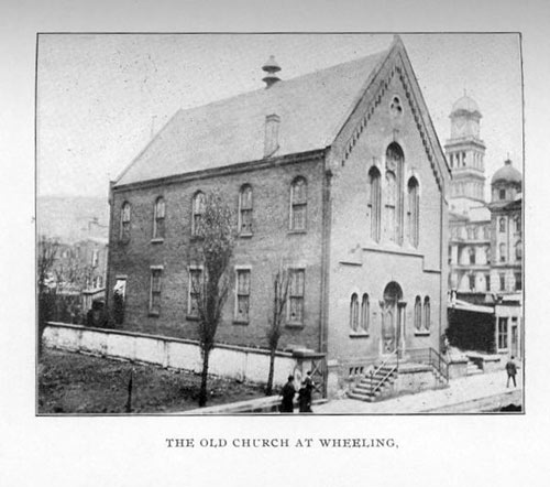 SBB's First church, in Wheeling, WV